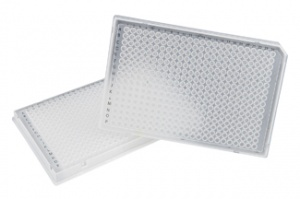 37970, SORENSON 384-Well Single-Notch Plate - BLACK - 50 plates per pack, 1 pack per case (Case of 50) - CS - Sorenson BioScience - PCR SUPPLIES
