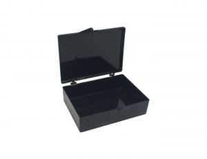 B1200-7BK, MTC BIO Western Blot Box, Opaque Black (3 1/2 x 2 9/16 x 1in. or 8.9 x 6.5 x 2.5cm) (Case of 50) - CS - MTC Bio - ELECTROPHORESIS AND WESTERN BLOT