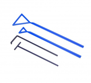 M5440, Spreader Triangle, 60 x 235mm, 1/sterile peel, 500 peels/pack - CS - MTC Bio - MTC Bio