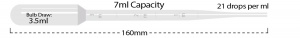 P4114-11, 7ml Graduated to 3ml Large Bulb, Individually Wrap - CS - MTC Bio - MTC Bio