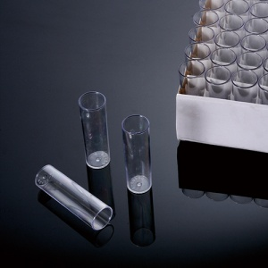 51-0501, BIOLOGIX 25x95mm (NARROW) CLEAR POLYSTYRENE NON-STERILE DROSOPHILA VIALS. VIALS COME PACKAGED IN 100 CELL TRAYS. PLUGS SOLD SEPARATELY. 100 VIALS/TRAY, 5 TRAYS/CASE (Case of 500) - CS - BIOLOGIX - BIOLOGIX