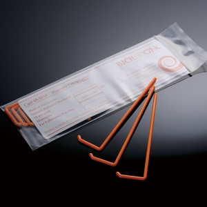 65-1001, BIOLOGIX ORANGE POLYSTYRENE STERILE L-SHAPED CELL SPREADER. SPREADERS COME INDIVIDUALLY WRAPPED. 500/CASE, CS - CS - BIOLOGIX - CELL CULTURE SUPPLIES