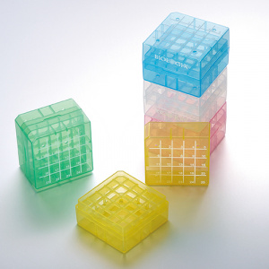 90-9025, BIOLOGIX 2 INCH 25 WELL POLYPROPYLENE FREEZER BOX (DIMENSIONS: 75x75x52mm) WITH REMOVABLE LID. BOXES/LIDS HAVE NUMERIC GRID FOR IDENTIFICATION PURPOSES. BOXES COME IN ASSORTED COLORS (CLEAR, PINK, BLUE, GREEN AND YELLOW). 24/CASE, CS - CS - BIOLOGIX - BIOLOGIX