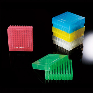 90-9200, BIOLOGIX 2 INCH 100 WELL POLYPROPYLENE FREEZER BOX WITH REMOVABLE LID. BOXES/LIDS HAVE NUMERIC GRID FOR IDENTIFICATION PURPOSES. BOXES COME IN ASSORTED COLORS (CLEAR, PINK, BLUE, GREEN AND YELLOW). 20/CASE, CS - CS - BIOLOGIX - GENERAL LAB SUPPLIES