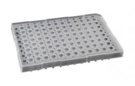 35850, SORENSON Semi-Skirted 96 well Plate - PURPLE - 25 plates per pack, 1 pack per case (Case of 25) - CS - Sorenson Bioscience - PCR SUPPLIES
